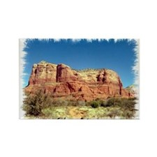 Courthouse Butte Rectangle Magnet