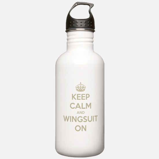 Funny Skydiving Water Bottle
