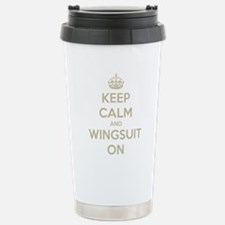 Cute Skydiving Travel Mug