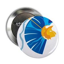 "Athena's Helmet 2.25"" Button (10 pack)"