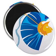 Athena's Helmet Magnet