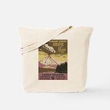 Lassen Volcanic Tote Bag