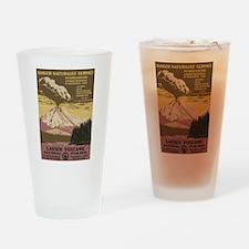 Lassen Volcanic Drinking Glass