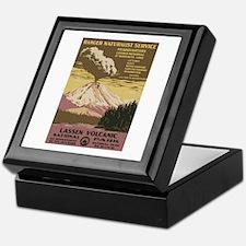 Lassen Volcanic Keepsake Box