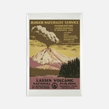 Lassen Volcanic Rectangle Magnet