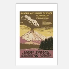 Lassen Volcanic Postcards (Package of 8)