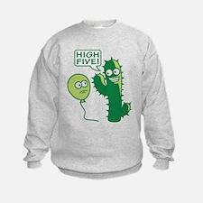 cactus_high_five Sweatshirt