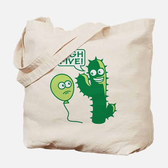 cactus_high_five Tote Bag