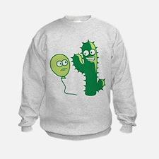 cactus_and_balloon Sweatshirt