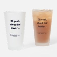 About That Border... Drinking Glass