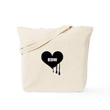 I Heart EDM Tote Bag