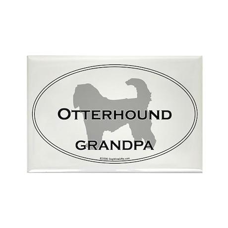Otterhound GRANDPA Rectangle Magnet