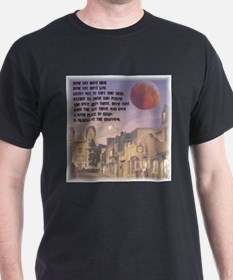 Santa Fe, New Mexico Red Moon T-Shirt