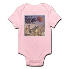 Santa Fe, New Mexico Red Moon Infant Bodysuit