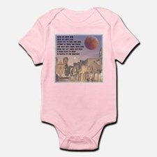 Santa Fe, New Mexico Red Moon Infant Bodysuit