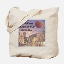 Santa Fe, New Mexico Red Moon Tote Bag