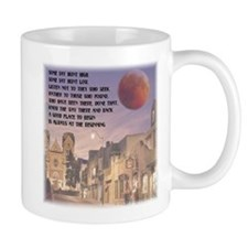Santa Fe, New Mexico Red Moon Mug