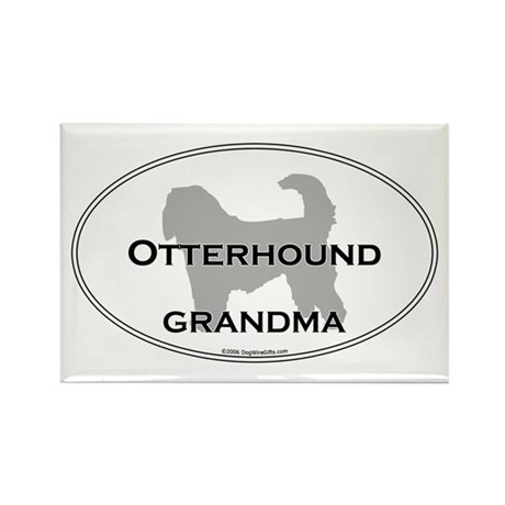 Otterhound GRANDMA Rectangle Magnet