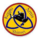 Shinsei Keno Arnis Round Car Magnet