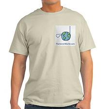Ash Grey Control Zone T-Shirt