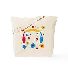 flower_power_music Tote Bag