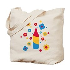 flower_power_beer Tote Bag
