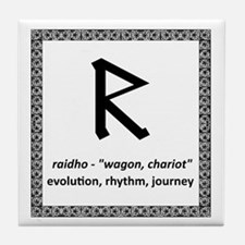 Raidho Tile Coaster