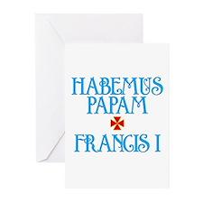 Habemus Papam - Francis I Greeting Cards (20 pack)
