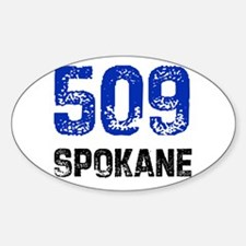 509 Oval Decal