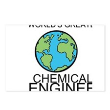 Worlds Greatest Chemical Engineer Postcards (Packa