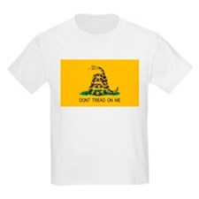 Gadsden Flag - Don't Tread On Kids T-Shirt
