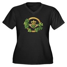 redcladdagh Plus Size T-Shirt