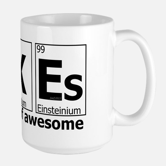 UKEs Elements of Awesome Large Mug