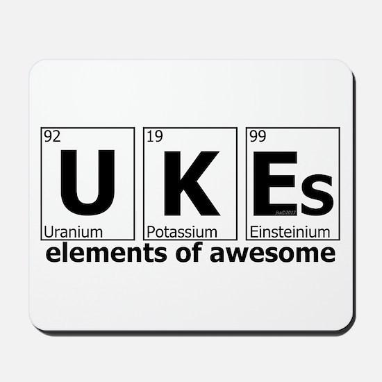 UKEs Elements of Awesome Mousepad