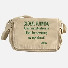 global warming-1.png Messenger Bag