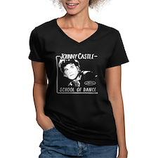 Johnny Castle Dance Women's V-Neck T-Shirt