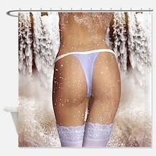 Fantasy Sexy Female Shower Curtain Splash