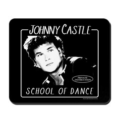 Johnny Castle Dance Mousepad