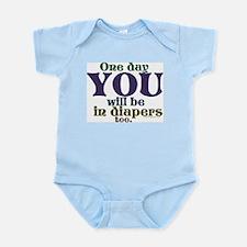 In Diapers Infant Bodysuit