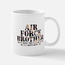 Air Force Brother Answering Mug