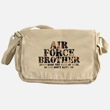 Air Force Brother Answering Messenger Bag