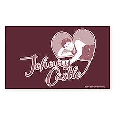 Dirty Dancing First Love Sticker (Rectangle)