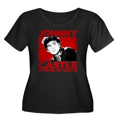 Johnny Castle Dance Women's Plus Size Scoop Tee