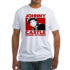 Johnny Castle Dance Bold Fitted T-Shirt
