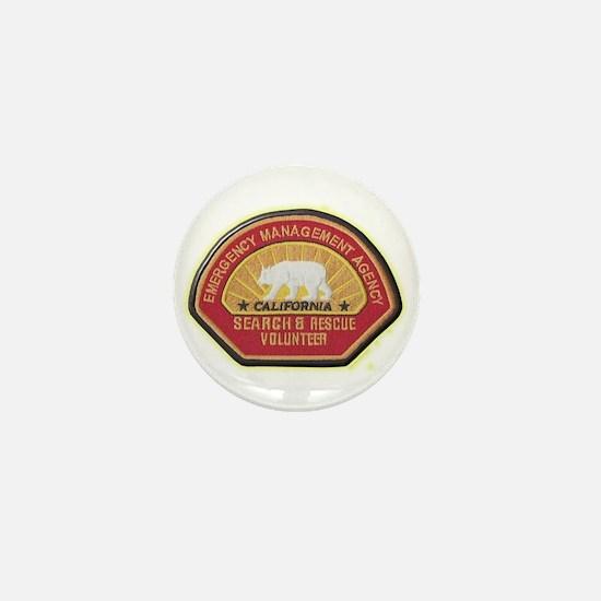 California EMA Search Rescue Mini Button