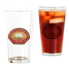 California EMA Search Rescue Drinking Glass