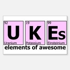 UKEs - Elements of Awesome Decal