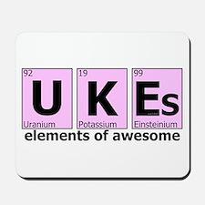 UKEs - Elements of Awesome Mousepad