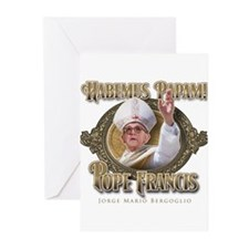 Pope Francis I Greeting Cards (Pk of 20)