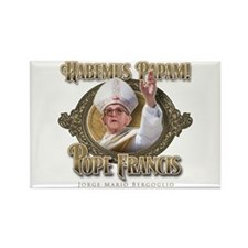 Pope Francis I Rectangle Magnet